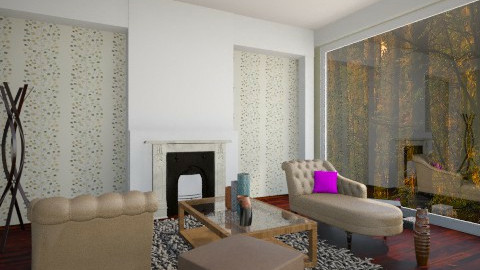 Valentina - Glamour - Living room  - by oblakoder