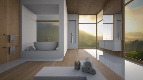 bathroom  - Modern - Bathroom  - by Louisa caulton