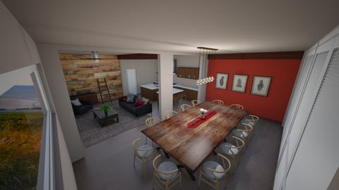 Rustic Apartment - Rustic - by Khayla