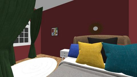 Color Challenge Room - Bedroom  - by Hallie_Reese