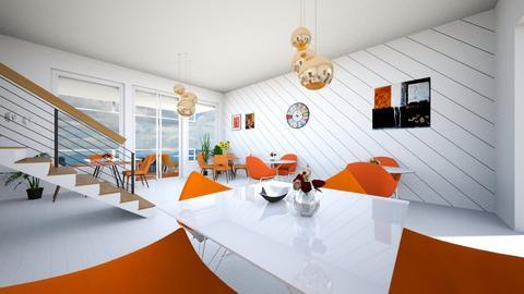 restaurant - by Tahsina Islam