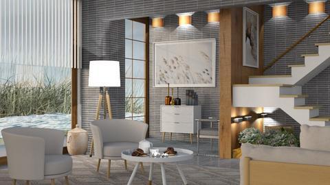 M_ Coastal - Living room  - by milyca8