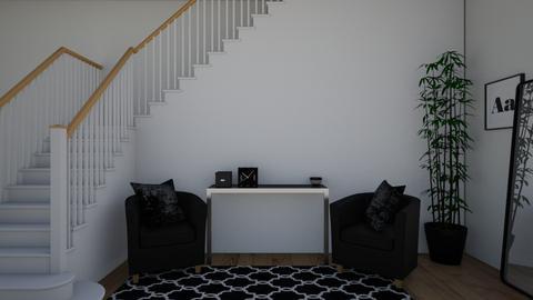 Dark corner idk - Living room  - by Zaria UwU