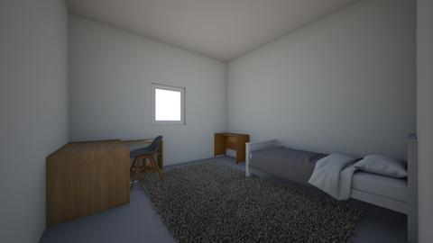 Math Assignment House pla - Bedroom - by hognoca
