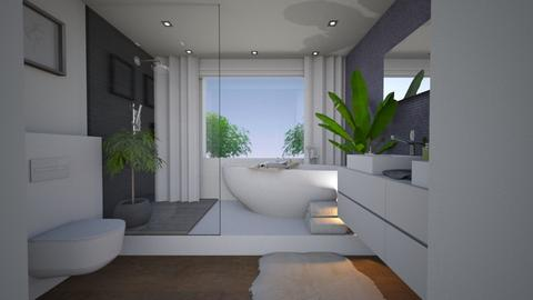 LAVENDER INNA - Modern - Bathroom  - by L A Y S K A