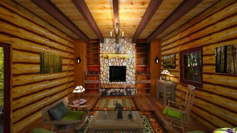 Cabin - Rustic - by  krc60