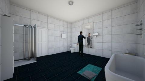 bathroom - Modern - Bathroom - by harry122