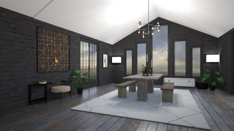 Dim Days - Modern - Dining room  - by rcrites457