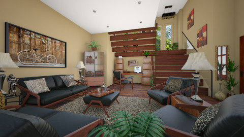 Alcove - Living room  - by Lackew