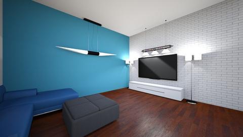 ROOM3 - Living room  - by GEORGEGEORGE