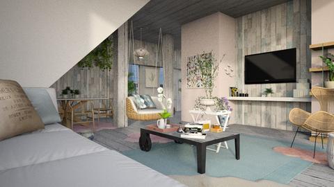 P i n k  - Living room - by Alda Neziri