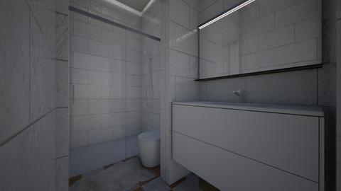 bathroom - by isabelparra10