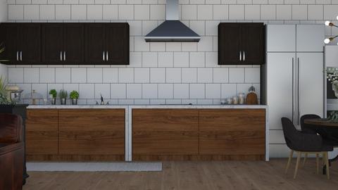 Kitchen - Modern - Kitchen  - by NEVERQUITDESIGNIT