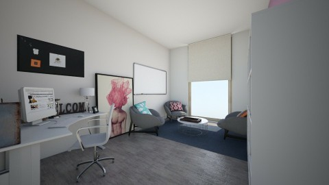 therapy office - Modern - Office  - by LaurenLakin