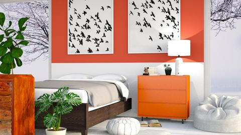 Paprika - Modern - Bedroom  - by millerfam