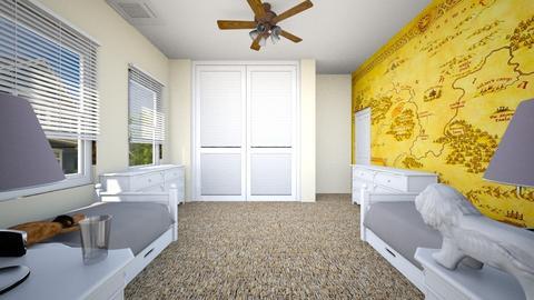 Narnia Bedroom 2 - Kids room  - by SammyJPili