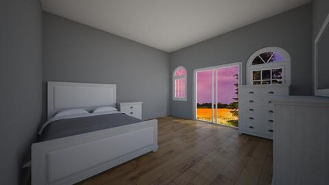 minimalist room - by smurfzilla2