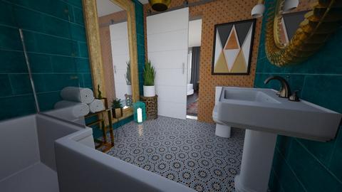 Studio Turq Bathroom - Bathroom - by Sherma