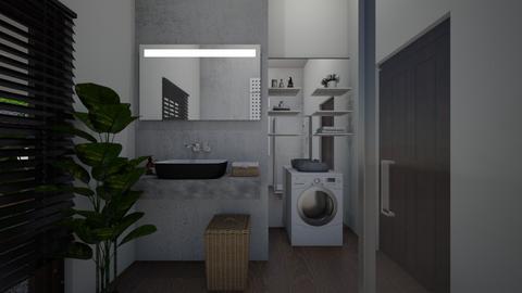 Laundry room2 - Bathroom  - by lovasemoke