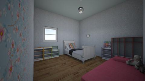 Kimberly ages 4_12 - Modern - Kids room  - by kittytarg