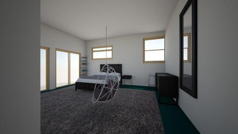 Ahmir and Nikki Room - Modern - Bedroom - by lillnikk