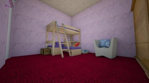 Lilac Room - Feminine - Bedroom - by annabee51