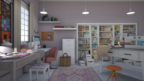 Sewing Room x - by kelseyleigh3