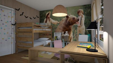 Wood for kids - Kids room  - by ewcia3666
