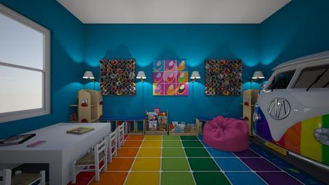 kindergarten - Kids room  - by murphyr2021