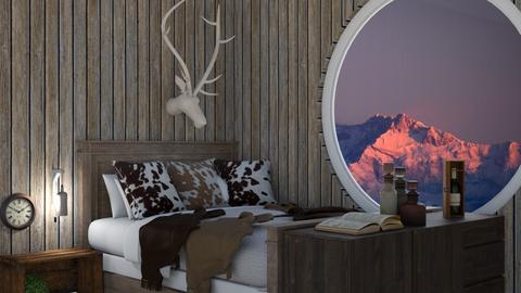 Mountain Loft - Bedroom - by Carolina_meee