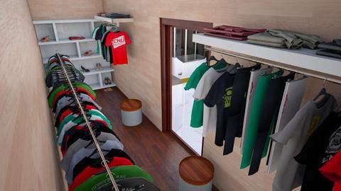 SpgCty Mstr WlkinCloset - Modern - Bedroom  - by alonatech_2nd