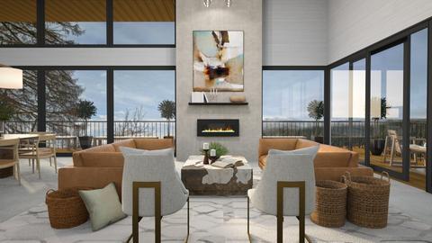 Modern Living II - Modern - Living room  - by CallMePippa