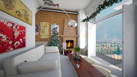 christmas in stpetersburg - Living room - by Aifei
