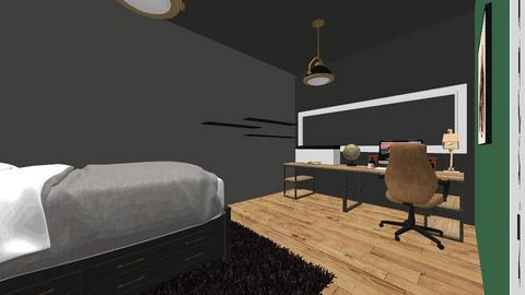 design 2 - Retro - Bedroom  - by SuperStijn