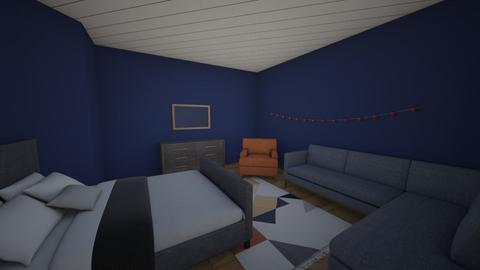 Relaxed Room - Bedroom - by ClaireCora