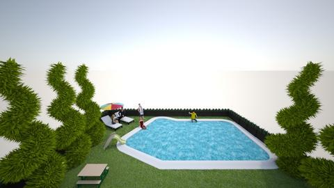 Pool - Garden - by Ninorucska
