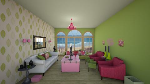 Watermelon Splash - Eclectic - Living room  - by Loren17