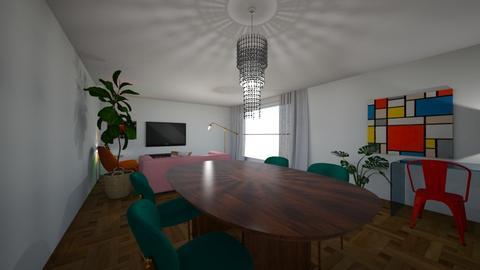 3 - Living room  - by Streepje