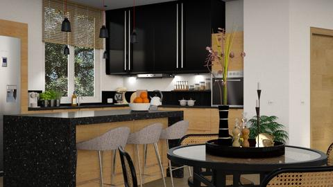 447 - Modern - Kitchen  - by Claudia Correia