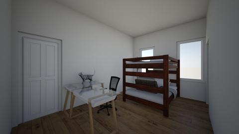 Full Bunk - Bedroom  - by helloimalice