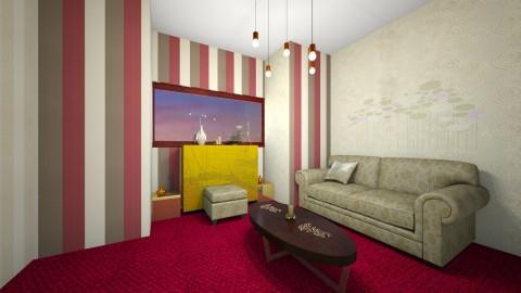 golden - Living room  - by Alixandria Wolff
