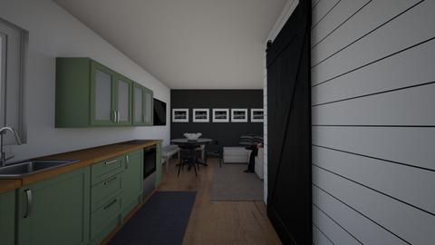 Cekadi studio apartment - by Studio Spark