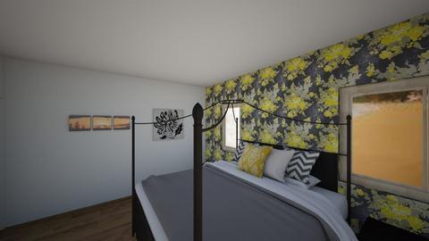 CAD Floor Plan Room - Bedroom - by Sophie Mc