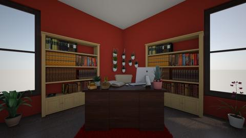 Apple inspired office - Classic - Office  - by deryhael