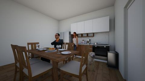ali - Kitchen - by avladova