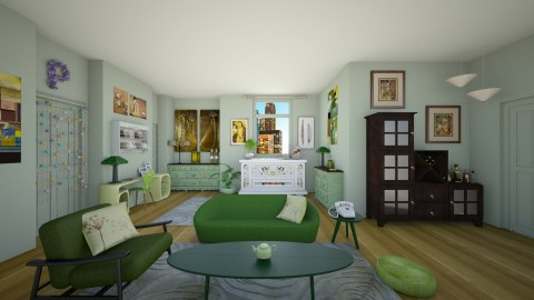 Phoebe Buffay - Retro - Living room  - by deleted_1524667005_Elena68