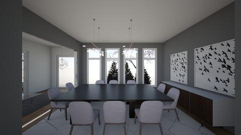 Fixer 3 - Dining room - by TColl3