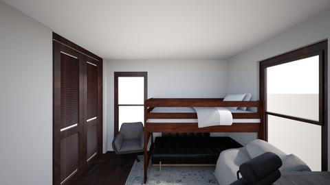 desk setup - Modern - Bedroom  - by glacier929