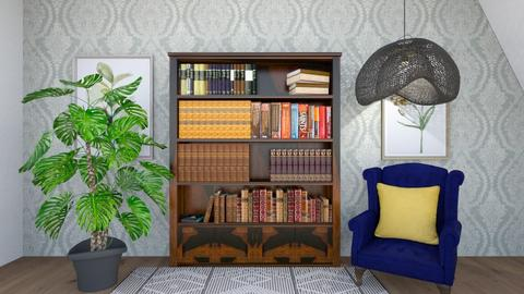 Dream Reading - Vintage - Living room  - by Agamanta