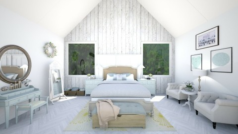 room2 - Rustic - Bedroom  - by Ali Ruth